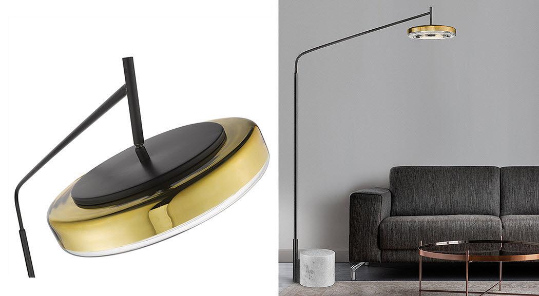 SEYVAA Lampadaire Lampadaires Luminaires Intérieur  |