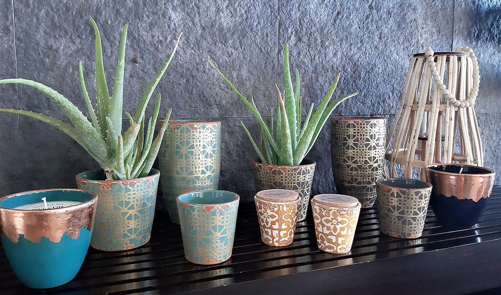 Wax Design Pot de fleur Pots de jardin Jardin Bacs Pots  |