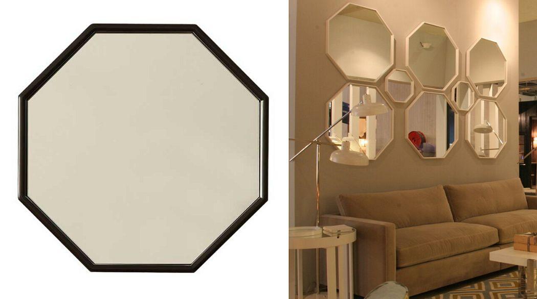 BRANCO SOBRE BRANCO Miroir Miroirs Objets décoratifs  |