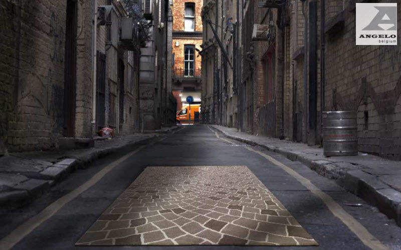 ANGELO RUGS & CARPETS Tapis contemporain Tapis modernes Tapis Tapisserie Espace urbain   Décalé