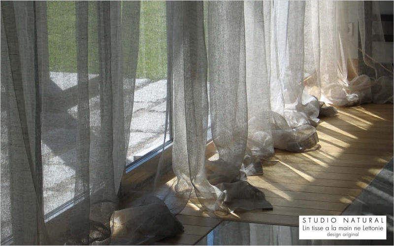 Studio Natural Voilage Voilages Tissus Rideaux Passementerie Salon-Bar | Design Contemporain