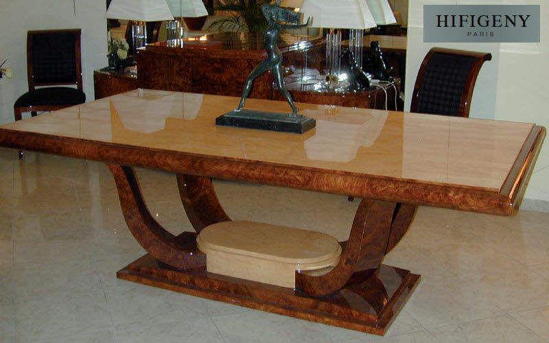 Hifigeny Table de repas rectangulaire Tables de repas Tables & divers Salle à manger | Classique