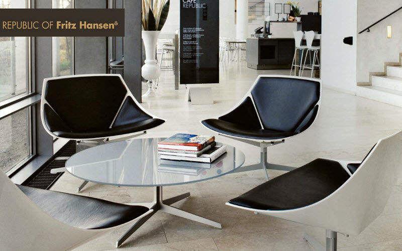 Fritz Hansen Fauteuil d'accueil Sièges de bureau Bureau Bureau | Design