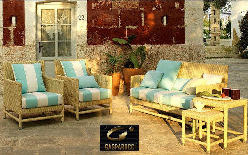 GASPARUCCI Salon de jardin Salons complets Jardin Mobilier Terrasse   Charme