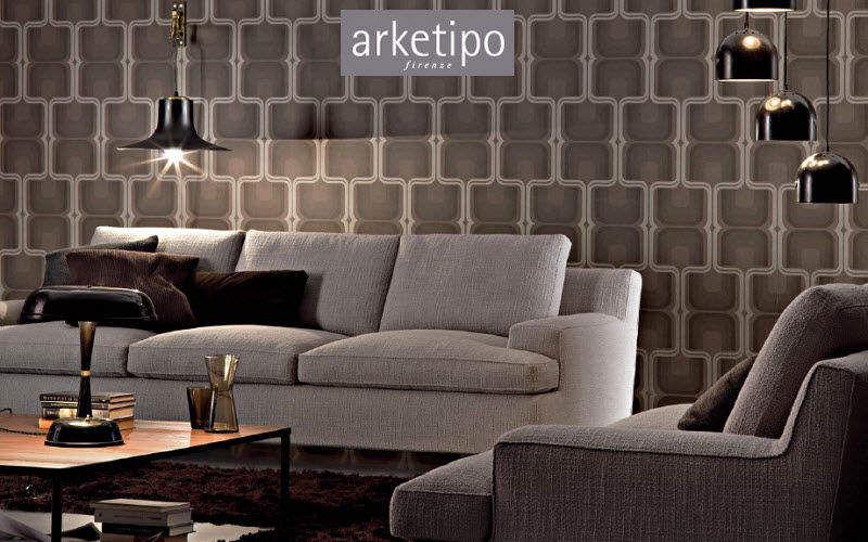 Arketipo Canapé 3 places Canapés Sièges & Canapés Salon-Bar   Design Contemporain