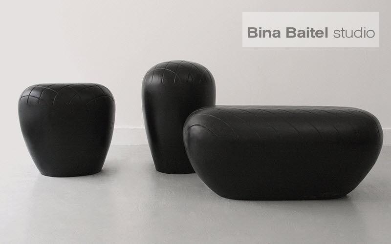 BINA BAITEL Studio Tabouret Tabourets et poufs Sièges & Canapés Salon-Bar | Décalé