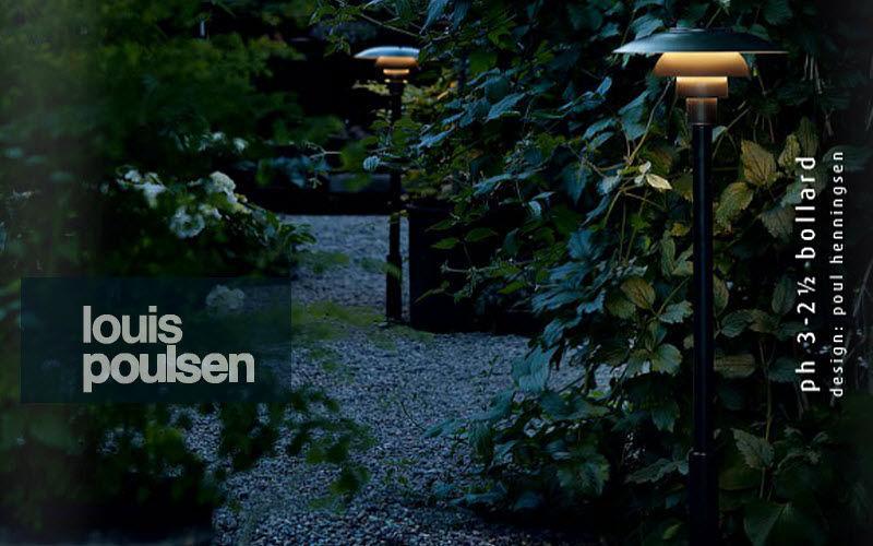 Louis Poulsen Lampadaire de jardin Réverbères lampadaires Luminaires Extérieur Terrasse |