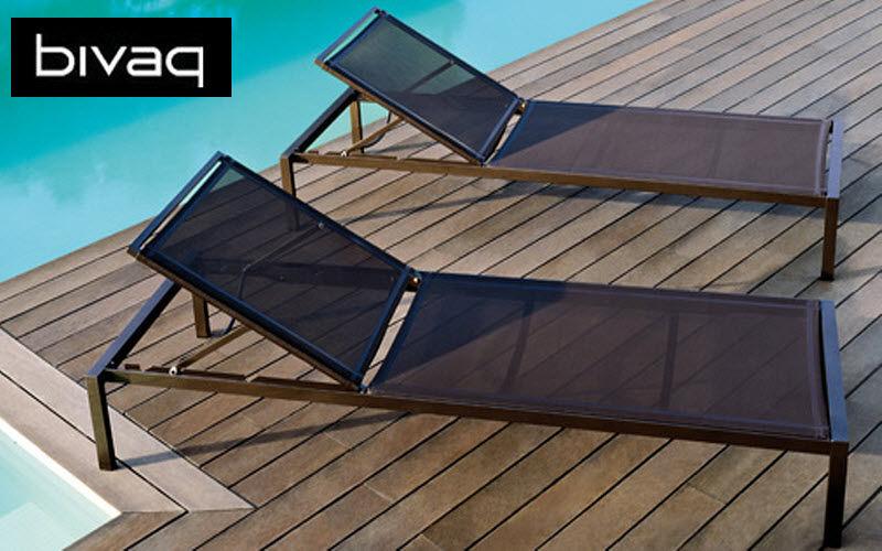 BIVAQ Bain de soleil Chaises longues Jardin Mobilier Jardin-Piscine | Design Contemporain