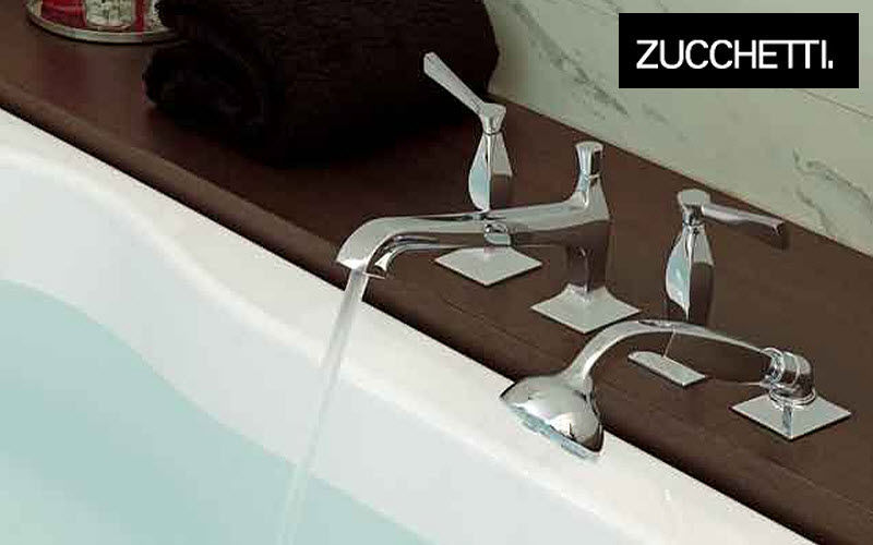 Zucchetti Mélangeur bain douche Robinetterie Bain Sanitaires Salle de bains   Design Contemporain