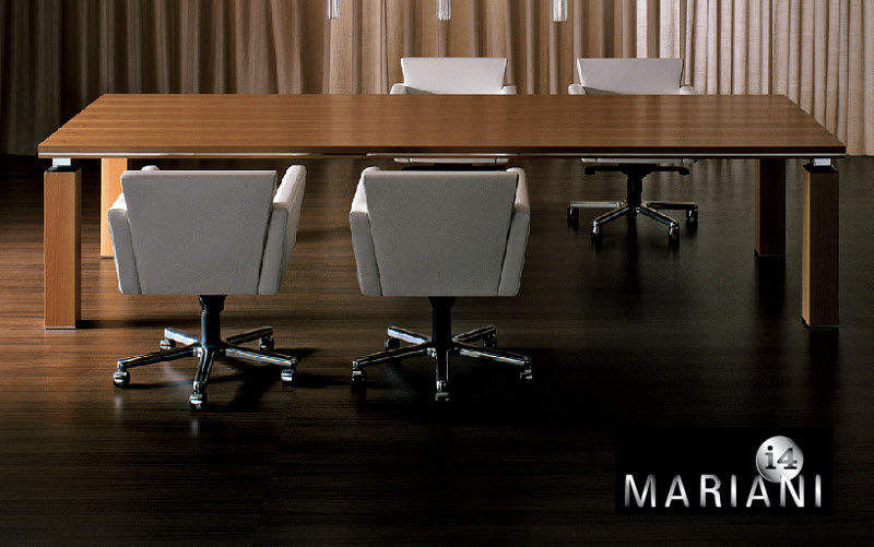I 4 MARIANI Table de réunion Bureaux et Tables Bureau Lieu de travail | Design Contemporain