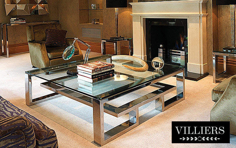 Villiers Table basse carrée Tables basses Tables & divers Salon-Bar | Design Contemporain