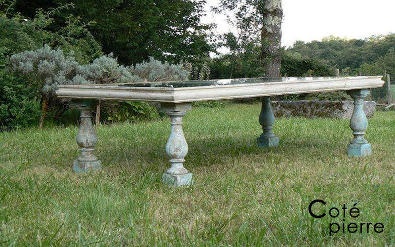 Cote Pierre Table de repas rectangulaire Tables de repas Tables & divers Salle à manger | Charme
