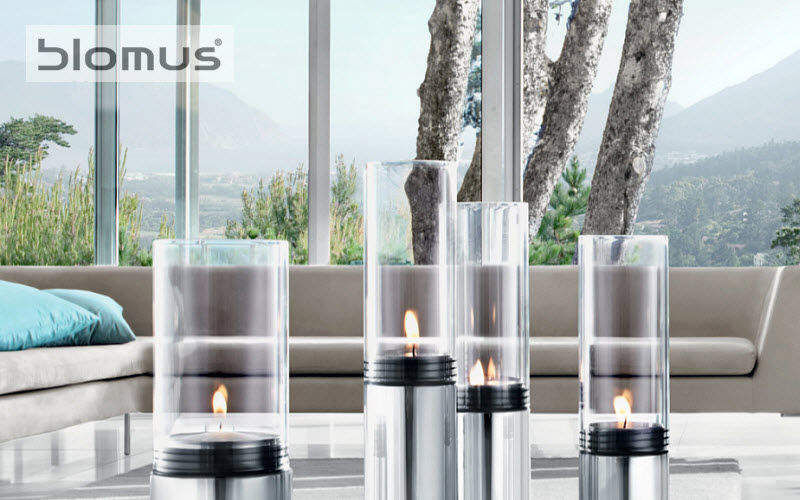 Blomus Photophore Bougies Bougeoirs Objets décoratifs Terrasse | Design Contemporain