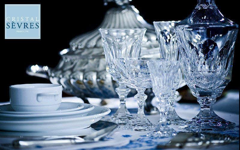 CRISTAL de SÈVRES Service de verres Services de verres Verrerie  |