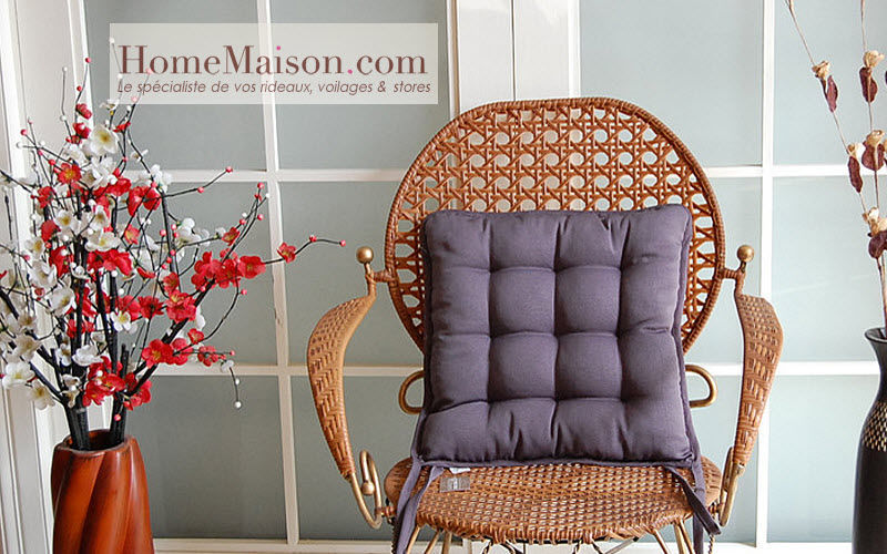 HOMEMAISON.COM Galette de chaise Coussins Oreillers Linge de Maison  |