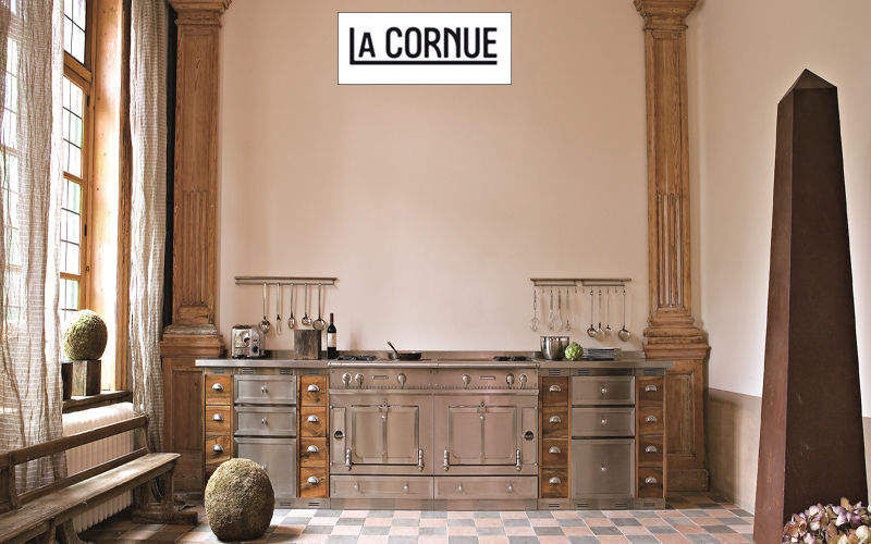 La Cornue Cuisinière Cuisinières Cuisine Equipement Cuisine   Design Contemporain
