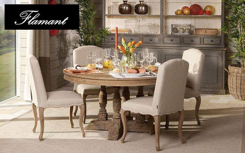 Flamant Table de repas ronde Tables de repas Tables & divers Salle à manger | Classique