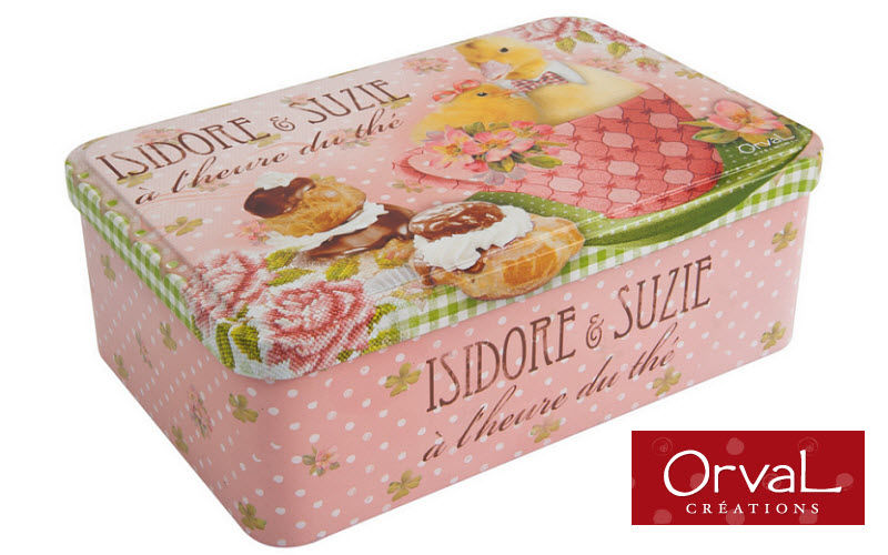Orval Creations Boite à thé Boites-pots-bocaux Cuisine Accessoires  |