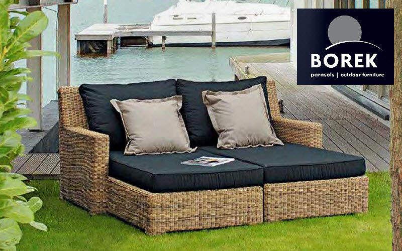 Borek Chaise longue de jardin Chaises longues Jardin Mobilier  |