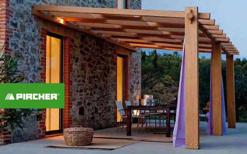 Nivremcom = Pergola Bois Couverte Pour Terrasse