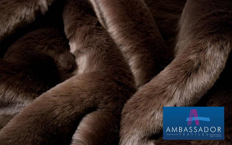 Ambassador Textiles Fourrure d'imitation Tissus d'ameublement Tissus Rideaux Passementerie  |