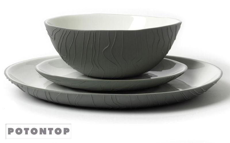 POT ON TOP Assiette calotte Assiettes Vaisselle Cuisine | Contemporain