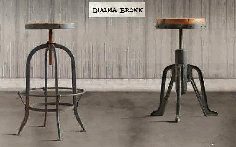 DIALMA BROWN Tabouret réglable Tabourets et poufs Sièges & Canapés  |