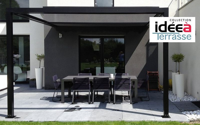 pergola kiosques et gloriettes decofinder. Black Bedroom Furniture Sets. Home Design Ideas