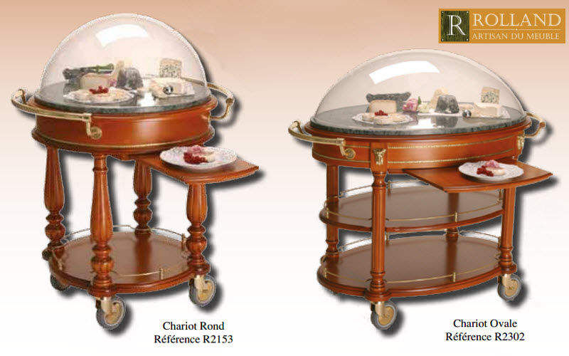 ROLLAND Chariot à fromages Chariots Tables roulantes Tables & divers  |