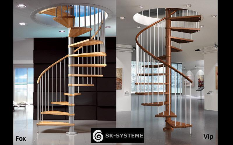 SK-SYSTEME Escalier hélicoïdal Escaliers Echelles Equipement   
