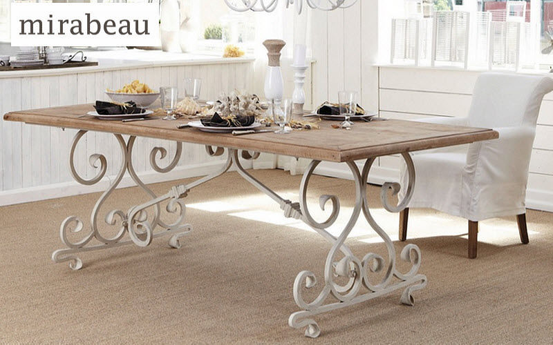 MIRABEAU Table de repas rectangulaire Tables de repas Tables & divers Salle à manger | Charme