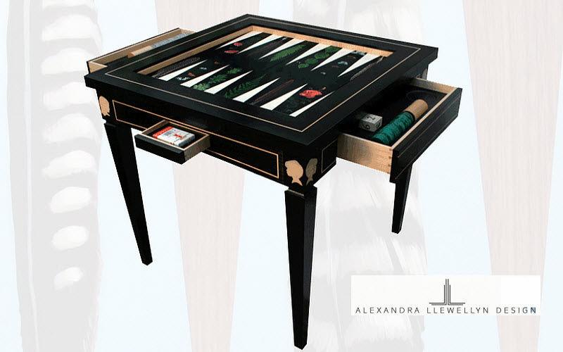 ALEXANDRA LLEWELLYN DESIGN Backgammon Jeux de société Jeux & Jouets  |