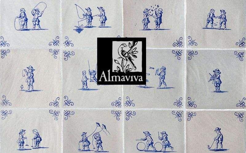Almaviva Carreau de Delft Carrelages Muraux Murs & Plafonds  |