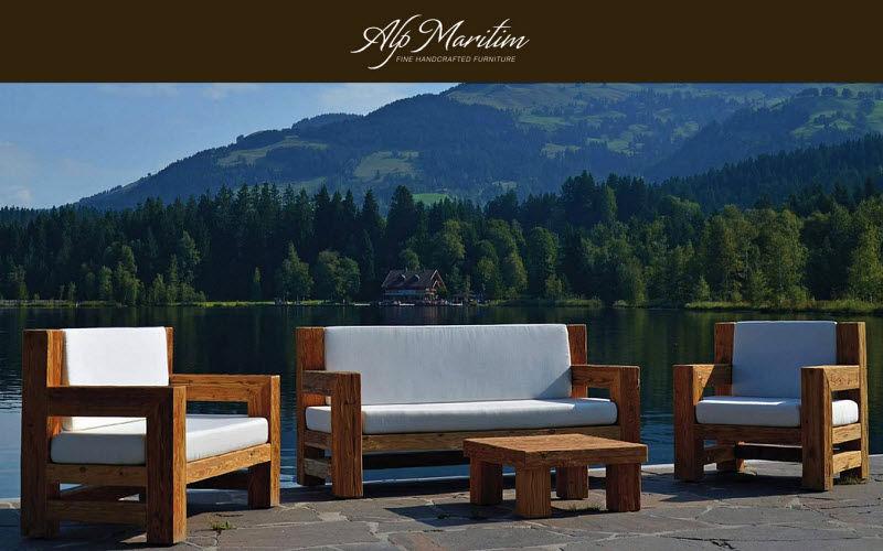 ALP MARITIM Salon de jardin Salons complets Jardin Mobilier  |