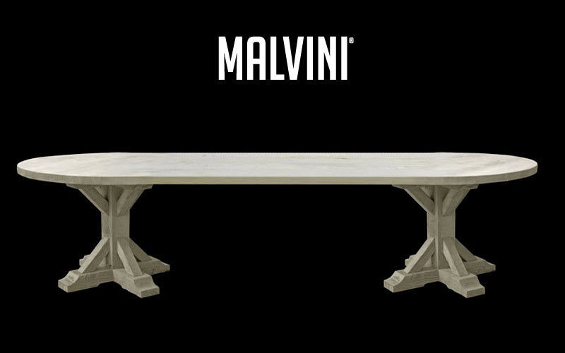 Malvini Table de repas ovale Tables de repas Tables & divers  |