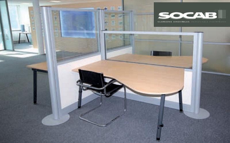 SOCAB Cloison de séparation Cloisons & Panneaux acoustiques Murs & Plafonds  |