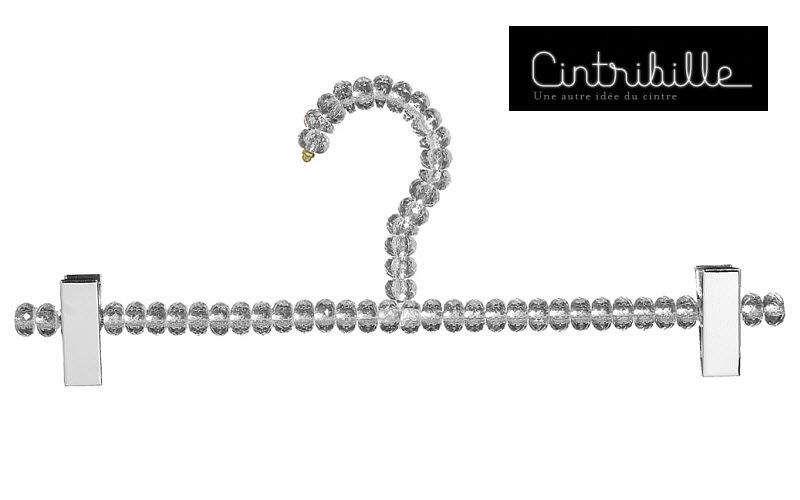 CINTRIBILLE Cintre pince-jupe Dressing accessoires Rangement Dressing  |