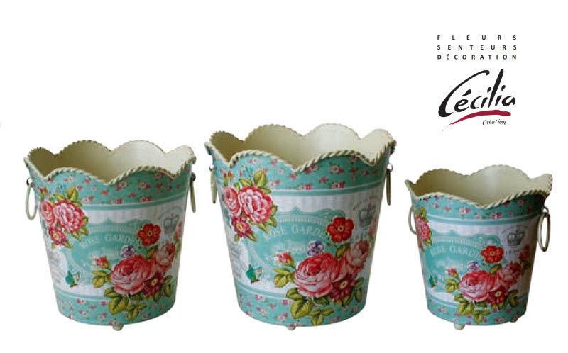 CÉCILIA Cache-pot Pots de jardin Jardin Bacs Pots  |