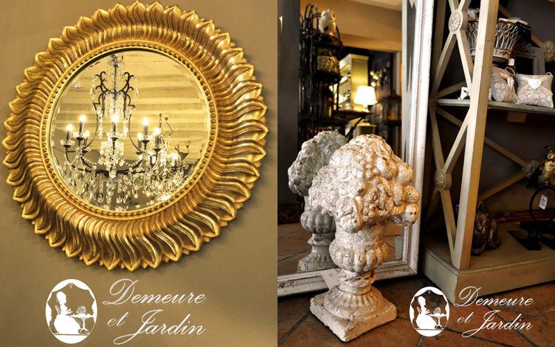 Demeure et Jardin Miroir Miroirs Objets décoratifs  |