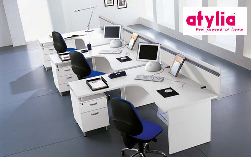 Atylia Bureau opérationnel Bureaux et Tables Bureau   