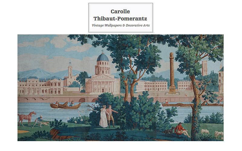 Carolle Thibaut-Pomerantz Papier peint panoramique Papiers peints Murs & Plafonds  |