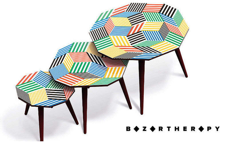 BAZARTHERAPY Tables gigognes Tables d'appoint Tables & divers  |
