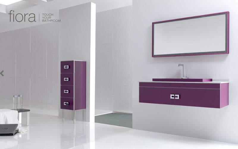 Meuble vasque meubles de salle de bains decofinder for Fiora salle de bain