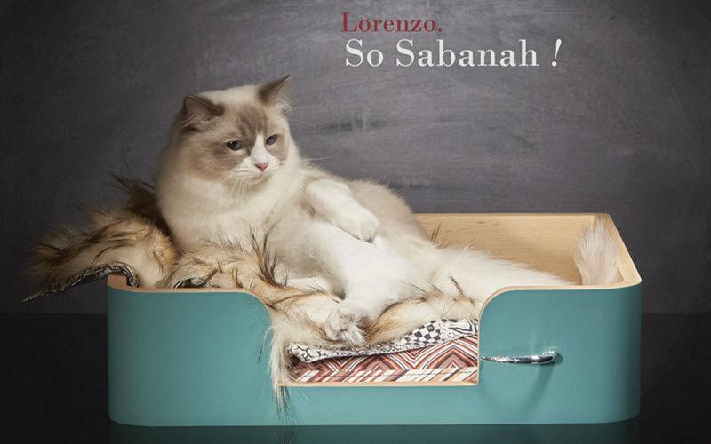 SABANAH Panier à chat Divers En marge de la Déco En marge de la Déco  |