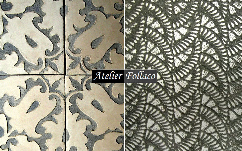 Atelier Follaco Carrelage ancien Carrelages sol Sols  |