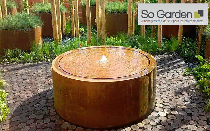 SO GARDEN Table d'eau Fontaines Jardin Bacs Pots  |