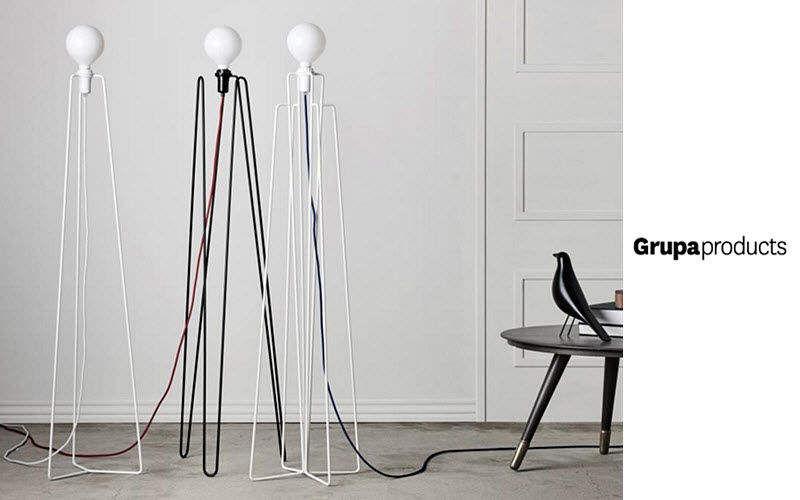 GRUPA PRODUCTS Lampadaire trépied Lampadaires Luminaires Intérieur  |