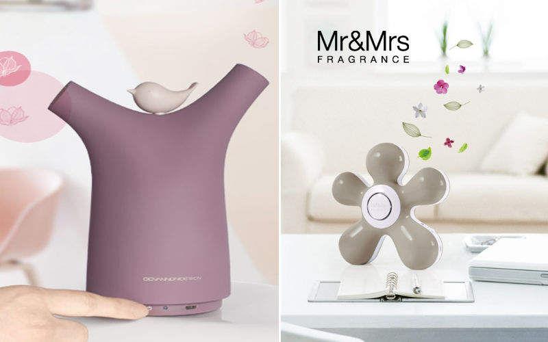 Mr&Mrs Fragrance Diffuseur de parfum électrique Senteurs Fleurs et Senteurs  |