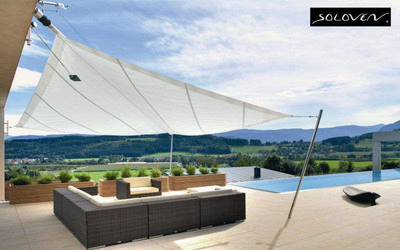 SOLOVEN Voile d'ombrage Parasols Tonnelles Jardin Mobilier  |