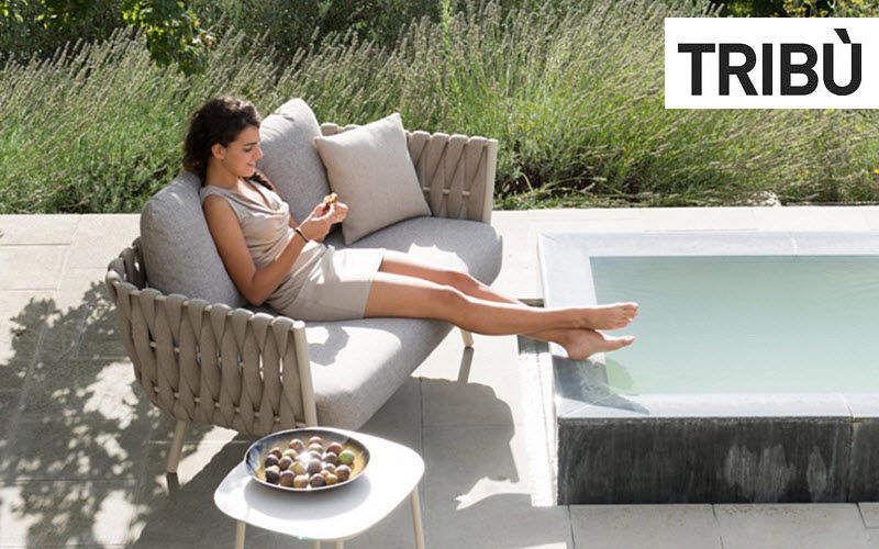 Tribu Canapé de jardin Salons complets Jardin Mobilier   